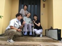 近藤邸の家族写真です