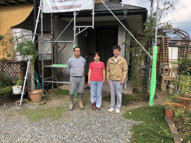 下伊那郡松川町元大島の三浦様邸外壁屋根塗装工事しました!
