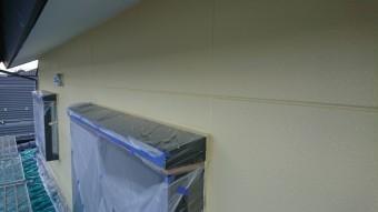 長野県駒ヶ根市赤穂ALC外壁塗装中塗り3