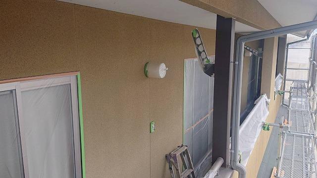 下條村陽皐 外壁塗装養生2
