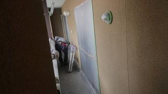 下條村陽皐 外壁塗装養生3