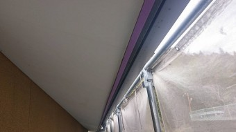 下條村陽皐 外壁塗装養生1
