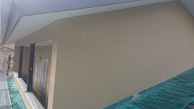 下條村陽皐 外壁塗装 中塗り3