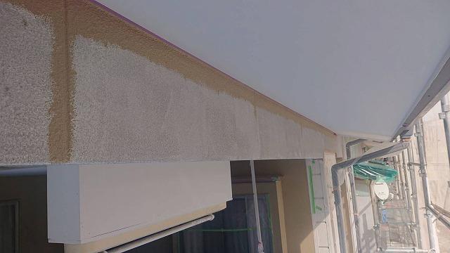下條村陽皐 外壁塗装 中塗り5