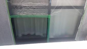 塩尻市アパート塗装下塗り6