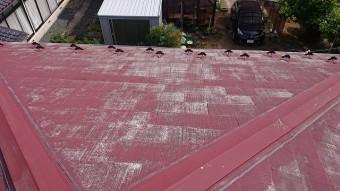 飯田市時又コロニアル屋根塗装2
