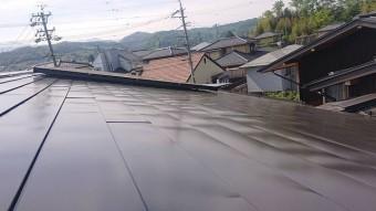 飯田市長野原トタン屋根上塗り6