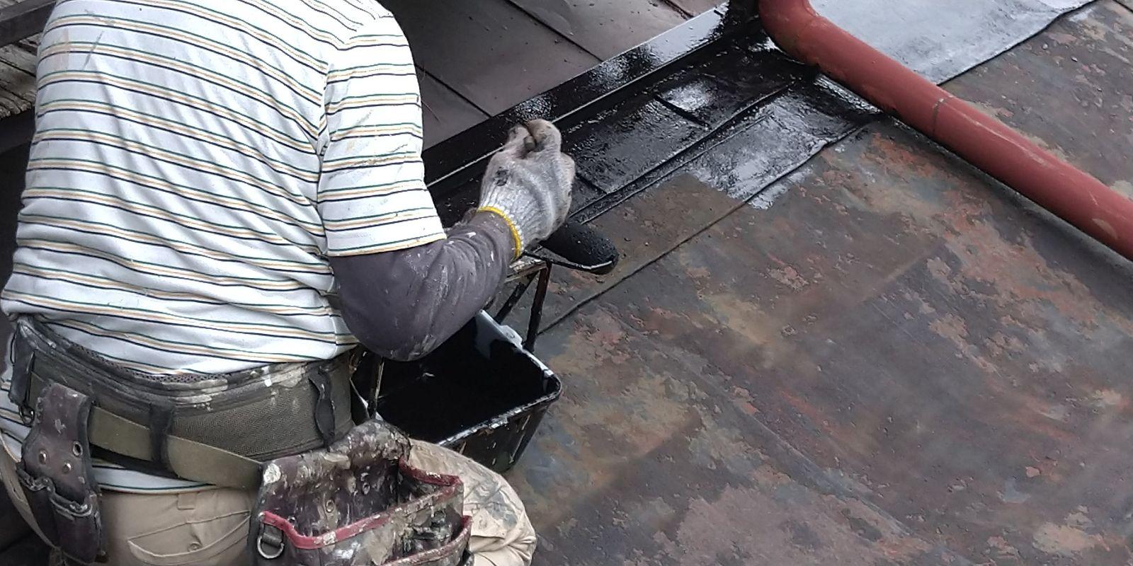 下條屋根塗装_下地1