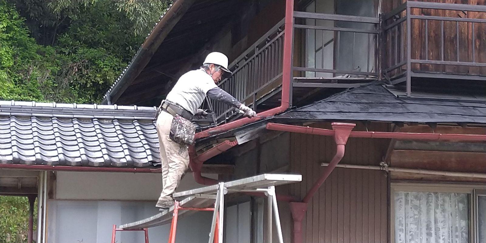 下條屋根塗装_下地2