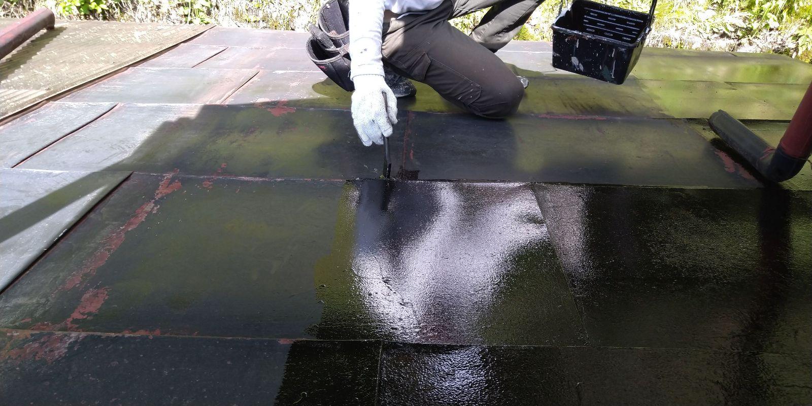 下條屋根塗装_下地3