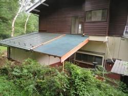 屋根新設しています