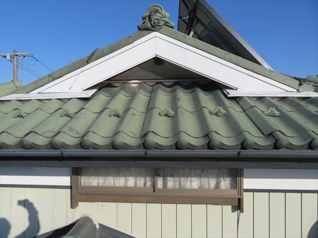 スレート屋根現場点検です。