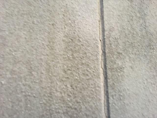 外壁塗装現場点検です