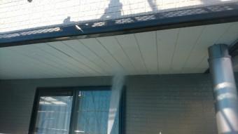 駒ヶ根市赤穂外壁ベランダ修繕洗浄4