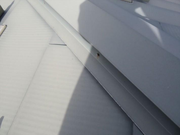 ガルバニウム鋼板の点検です