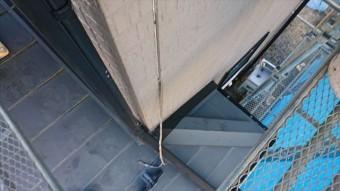 駒ヶ根市赤穂外壁ベランダ・コーキング交換6
