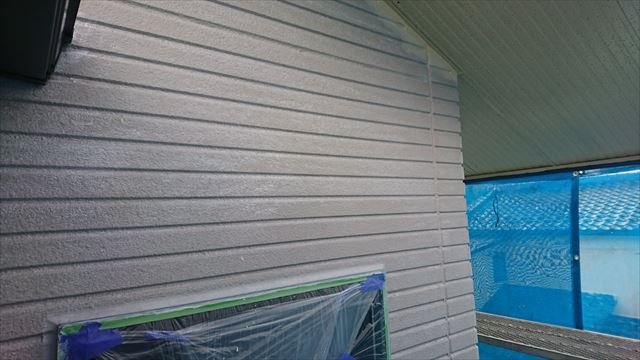 長野県飯田市龍江サンワホーム外壁下塗り3