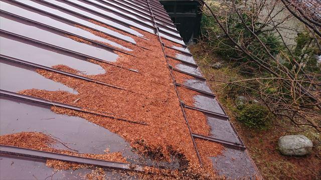 宮田村トタン屋根塗装洗浄3