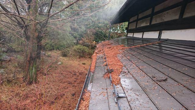 宮田村トタン屋根塗装洗浄7