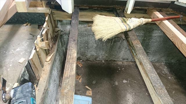 駒ヶ根市キッチン修繕4