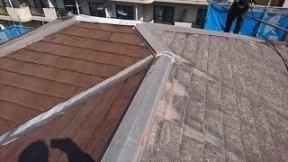 塩尻市外壁塗装屋根カバー洗浄2