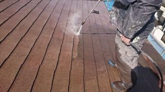 塩尻市外壁塗装屋根カバー洗浄4