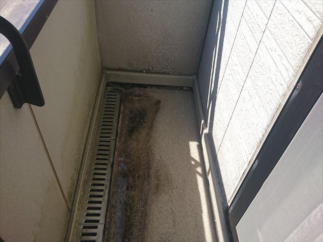 長野県ベランダ雨漏れ火災保険対応2