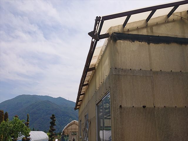 長野県飯島町ハウス現状2