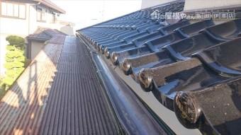 長野県駒ヶ根市雨樋交換・外壁塗装現状9