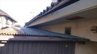 長野県駒ヶ根市雨樋交換・外壁塗装現状4