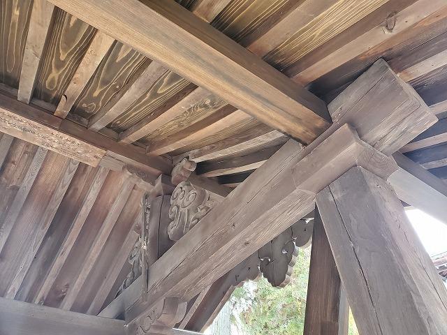 木部の塗装2