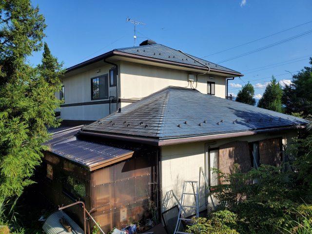 松川町外壁屋根塗装現地調査