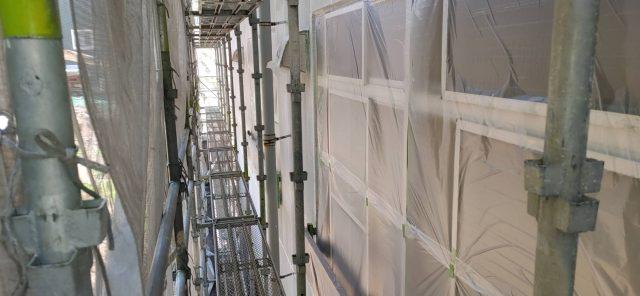 長野県伊那市で外壁の塗装工事などを行います。-外壁塗装をします