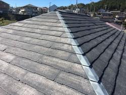 スレート屋根施工前