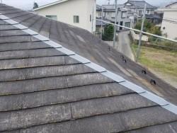 スレート コロニアル屋根施工前です