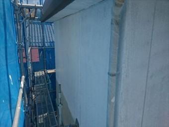 喬木村外壁下塗り3