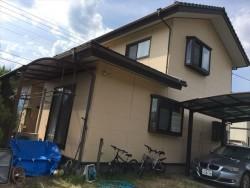 施工前の家