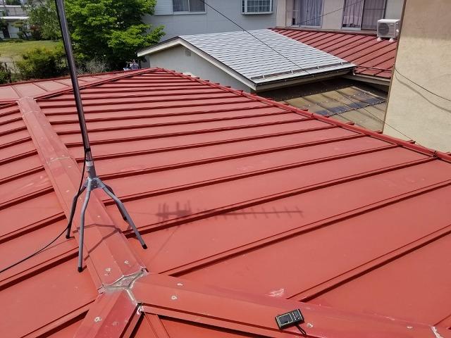 塗装前のトタン屋根です②