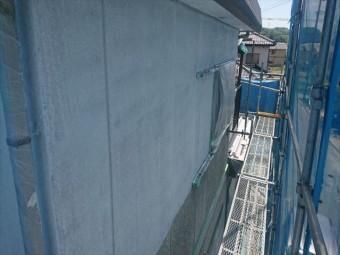 喬木村外壁下塗り4