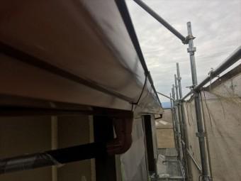 雨樋の塗装