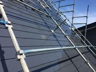 完成屋根塗装