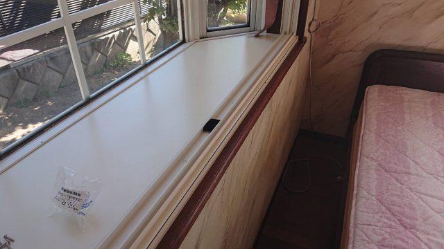 駒ケ根市下平外壁塗装_インナーサッシ2
