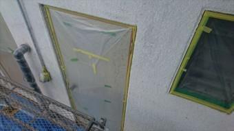 塩尻市屋根カバー外壁塗装養生3
