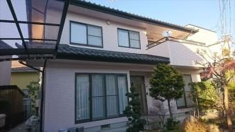 松本市外壁塗装ALC 完成1