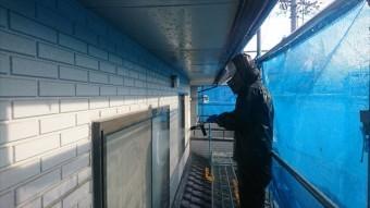 松本市洗浄AIC外壁1