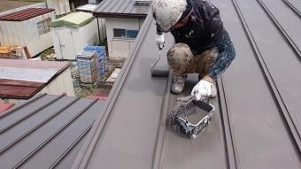 EC-100塗装上塗り開始です。