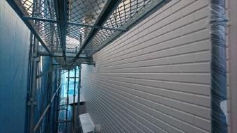 松本市ALC外壁中塗り5