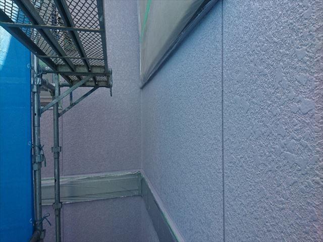 喬木村屋根外壁壁中塗り7