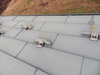 外壁屋根の塗装工事の施工前です②