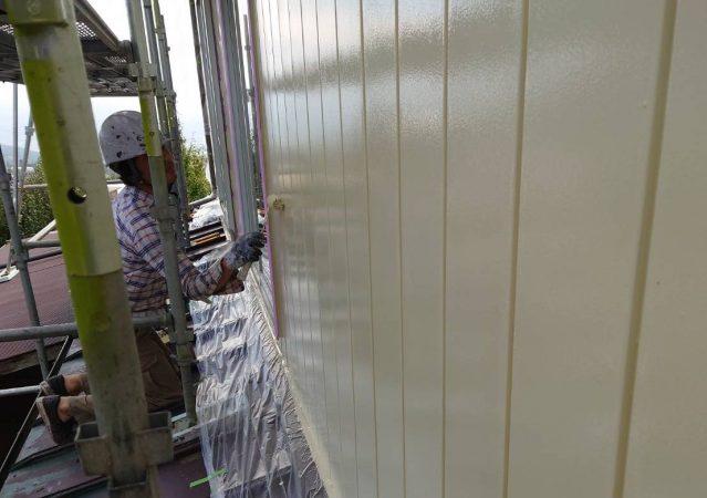 高森町屋根塗装_外壁1